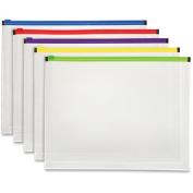 Pendaflex Colour Zipper Poly Envelopes