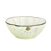 Liuyu Kitchen Home Ceramics Tableware 23cm Soup Pot Soup Basin With Cover Big Soup Bowl