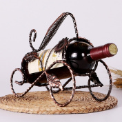 Creative Wine Rack Decoration European Display Wine Cabinet Decoration Wine Shelf Living Wrought Iron Bottle Rack