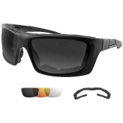 Bobster Trident Convertible Polarised Smked Clr & Amber Lens with Elite Tactical Cloth