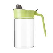 MOMO Glass Oil Bottle Leakage Oil Kitchen Oil Control Pot Seasoning Bottle Soy Sauce Stainless Steel Cover