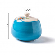 MOMO Creative Ceramic Jar European - Style Sugar Cans Miscellaneous Grains Tank Salt Tank Storage Tank Seasoning Tank