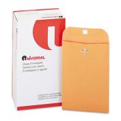 Universal Kraft Clasp Envelope, 13kg, #55, 6 x 9, Brown Kraft, 100/Box