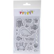 Jane's Doodles Clear Stamps 10cm x 15cm -Under The Sea