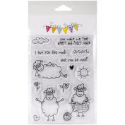 Jane's Doodles Clear Stamps 10cm x 15cm -Seamus