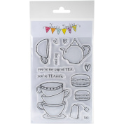 Jane's Doodles Clear Stamps 10cm x 15cm -TEArrific