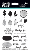 Illustrated Faith Clear Stamps 10cm x 15cm -Gratitude Documented
