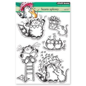 Penny Black Hearts Aplenty Clear Unmounted Rubber Stamp Set