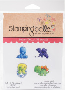 Stamping Bella Cling Stamps-Dinosaurs