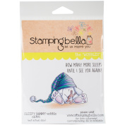 Stamping Bella Cling Stamp 17cm x 11cm -Sleepy Bunny Wobble