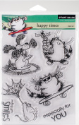 Penny Black Clear Stamps 13cm x 18cm -Happy Times