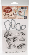 DreamerlandCrafts Clear Stamp & Die Set 10cm x 10cm -So Much To Be Joyful About
