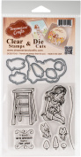 DreamerlandCrafts Clear Stamp & Die Set 10cm x 10cm -Friends Are Always There For You