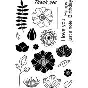 Jane's Doodles Clear Stamps 10cm x 15cm -Doodle Flowers 2