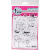Pink & Main Clear Stamps 10cm x 15cm -What A Hoot