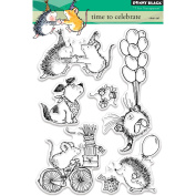 Penny Black Clear Stamps 13cm x 18cm -Time To Celebrate