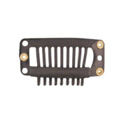 Clips Extensions Brown 2.8 cm