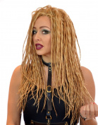 Long Golden Blonde Dreadlock Lace Front Wig | Steampunk Cosplay Dreads Wig