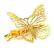 Originaltree Ladies Wedding Hair Clip Alloy Hollow Butterfly Hairpin Accessories