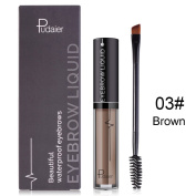ROMANTIC BEAR Waterproof not Fade Eyebrow Liquid with Brush