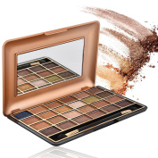 Eyeshadow Palette Makeup,Beauty & Health 24 Colours Pro Highly Pigmented Shimmer Eye Palette with Makeup Mirror For Matte Naked Natural Nude Metallic or Smokey Cosmetic Eye Shadows