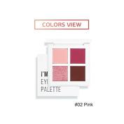I'M MEME I'm Eyeshadow Palette Quad #002 Shades of Pink
