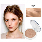 DRESS® Pressed Smooth Dry Whitening Concealer Powder Repair Cheeks To Enhance Silhouette Oil Control Loose Face Powder Makeup Tool