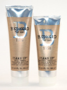 TIGI BED HEAD B FOR MEN CLEAN UP DAILY SHAMPOO 250ML + CONDITIONER 200ML DUO