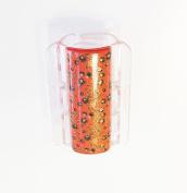 Linshell - Linziclip Midi - Vintage Flora Candy Orange CLG