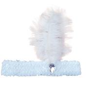 Headband Sequined Showgirl Elastic Ostrich Feather Costume Headpiece Flapper Headband