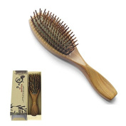 EQLEF® Great gift to women Comb Green sandalwood no static hair brush wooden comb, Mother's Day Gift