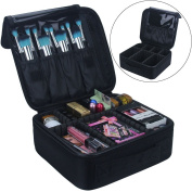 Travelmall Cosmetic Organiser-Professional Makeup Case-Travel Make Up Tools Container