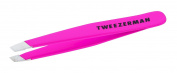 Tweezerman Flamingo Pink Mini Slant Tweezer