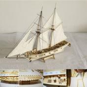 Aissimio 1:100 Hobby Wooden Ship Models Boat Ships Kits Sail Boat Wooden Model Kit Toy