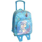 Frozen – School Backpack with Wheels