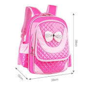 School Bags, SHOBDW Girls Gifts Children Sweet Bowknot Dots Princesses Schoolbag Primary Fancy Large Capacity Backpacks