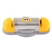 Kitchen Safety Suction Pad Single Hand Design Nonslip Cutter Grinder Sharpener