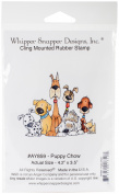 Whipper Snapper Cling Stamp 10cm x 15cm -Puppy Chow