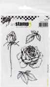 Carabelle Studio Cling Stamp A6-Offer A Rose