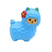 VNEIRW Stress Relief Toys, Cute Alpaca Jumbo Scented Squishies Slow Rising Baby Squeeze Soft Toys