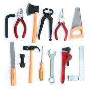 Bodhi2000 Kids Pretend Play Tools Toy Set Plastic Construction Educational Toys Building Tool Kits