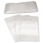 C-Line Write-On Recloseable Small Parts Bags, Poly, 2 Mil, 5 x 8, Clear, 1000/Carton