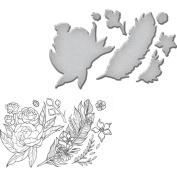 Spellbinders Stamp, & Die Set, Feather