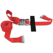E-STRAP 5.1cm x 4.9m RATCHET (Import) with Hook & Loop storage fastener