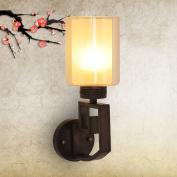 New Chinese LED Mirror Headlights Simple Bathroom Bathroom Mirror Lights Aisle Balcony Wall Lamp