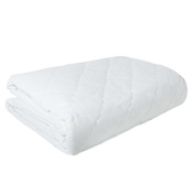 Quilted Mattress Topper with Elasticated Corners – 1 bed/cot bed Single