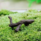 Inovey Garden Micro Landscape Decorations Mini Simulation Trunk