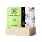 Ecrin De Fleur Certified Organic Aloe Vera Soap – Moisture Aloe Vera Soap Infused With Essential Oils - The Non Toxic, SLS & Chemical Free Soap Bar That Softens The Skin And Nourishes the Senses