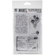 49 And Market Clear Stamps 10cm x 15cm