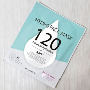 Vitamasques - Hydro Face, 120 Hours of Hydration, Revitalising Face Luxury Korean Advanced Skin Care Technology, Premium Face Masks,, Clinically Proven Formula, Fantastic Results